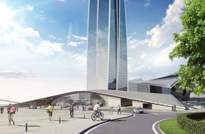 Valmiv Gazpromi peakorter lööb uusi kõrgus- ja ehitusrekordeid