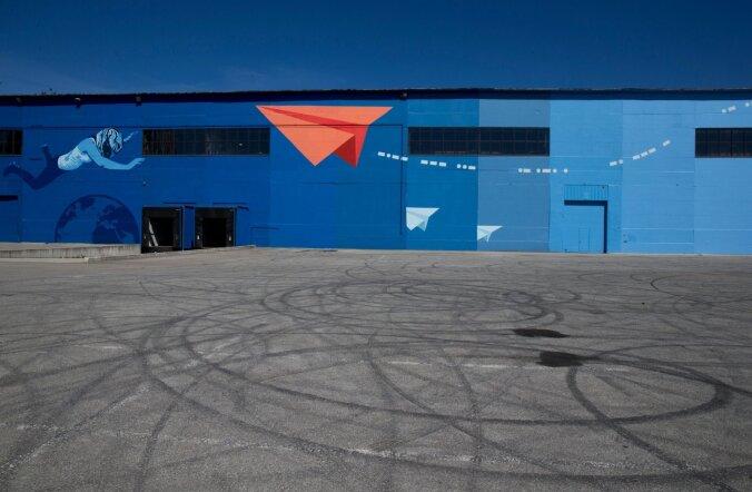 FOTOD: Ülemiste ärilinnak sai hiiglasliku seinamaalingu