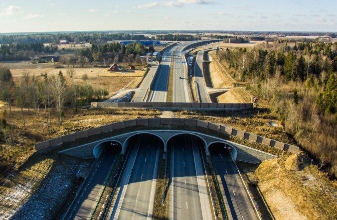 Ökodukt Tallinna-Tartu maanteel