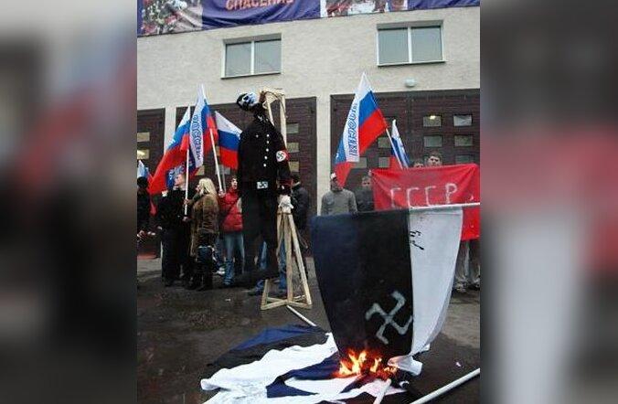 Eesti lipu põletamine Moskvas