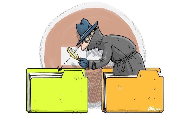 """Издание: через регистр народонаселения ведомства незаконно """"роются"""" в личных данных"""