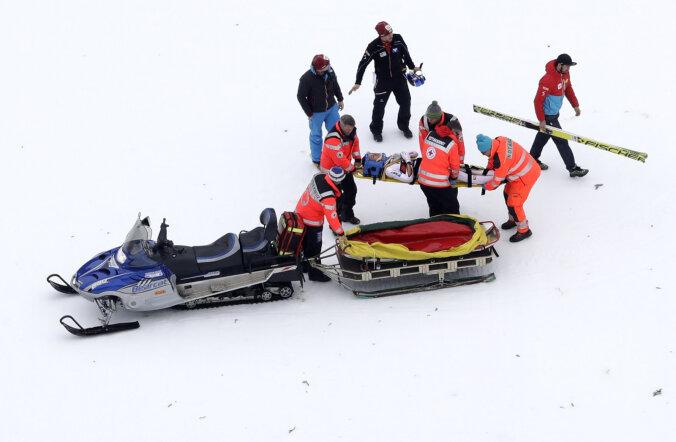Gregor Schlierenzauer pärast kukkumist