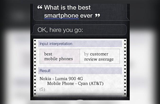 Isegi iPhone 4S kinnitab, et Windows Phone on parem!