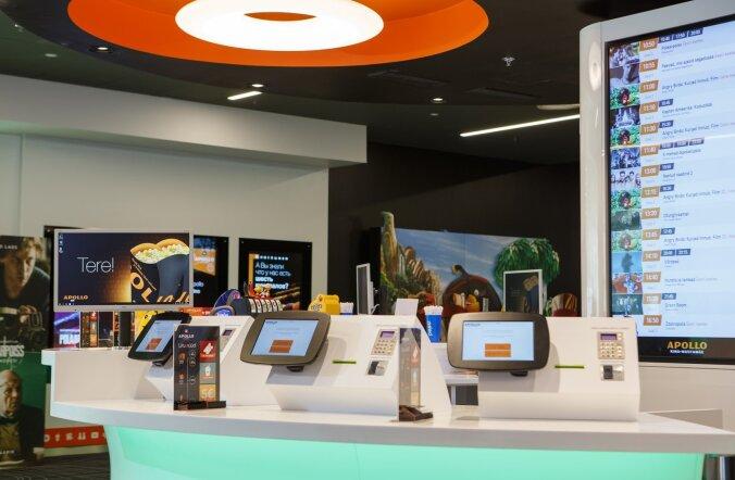 Tartu uues kinos asenduvad töötajad robotitega