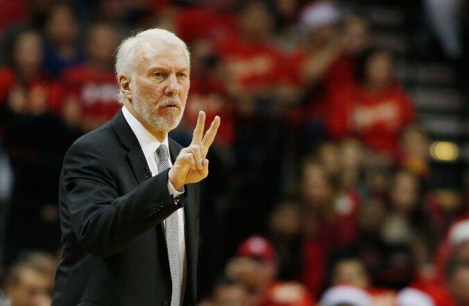 Selgusid NBA Tähtede mängu meeskondade treenerid