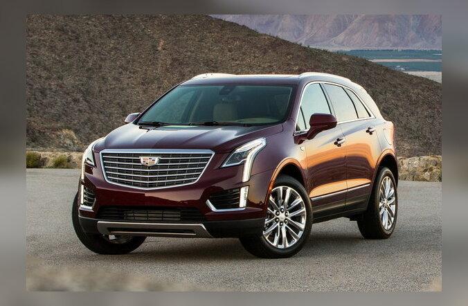 Proovisõit: Cadillac XT5 - uue nimega SRX, avar ja omanäoline