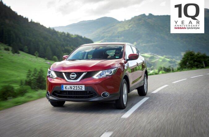 Terve autoliigi teerajaja: Nissan Qashqai tähistab juba kümnendat sünnipäeva