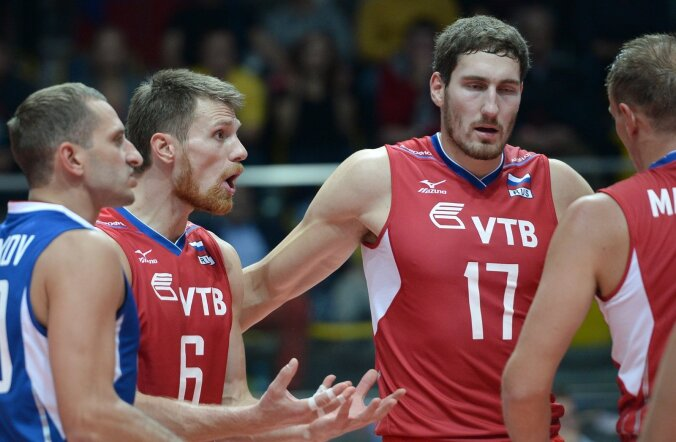 2013 Men's European Volleyball Championship. Russia vs. Germany
