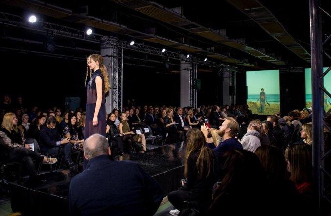 Таллиннская неделя моды 2015: Сине-черно-белые мотивы и фрики