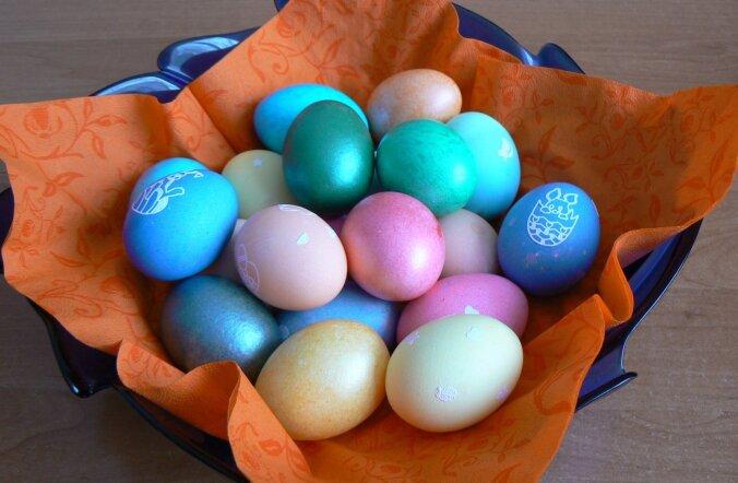Värvilised munad