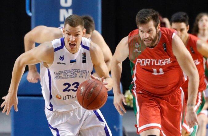 Eesti vs Portugal korvpallis