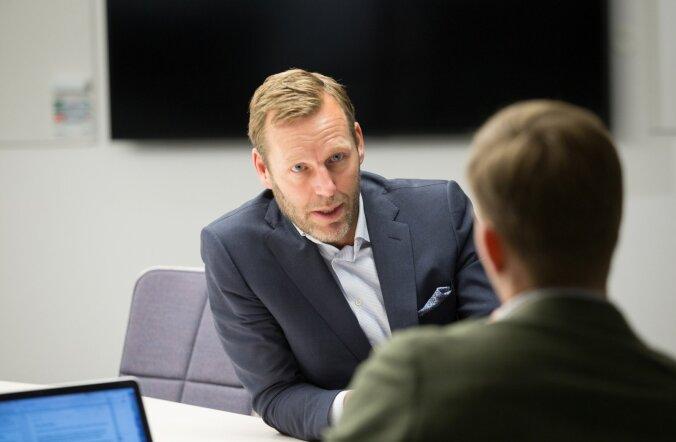 Telia tegevjuht Johan Dennelind ütleb, et digipioneer Eesti on justkui katsepolügoon, kus on hea uusi lahendusi kõigepealt proovida.