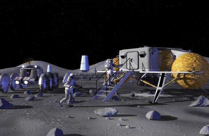 Tagasi Kuule? Pole välistatud, et NASA fookus pöördub Trumpi ametiajal Marsilt meie kaaslasele