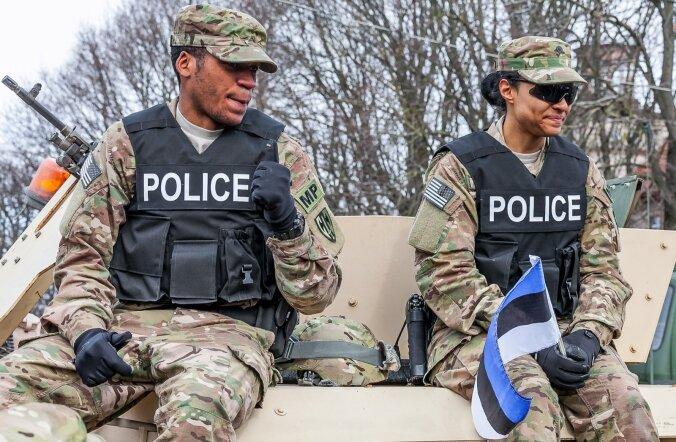 USA sõdurid Pärnus