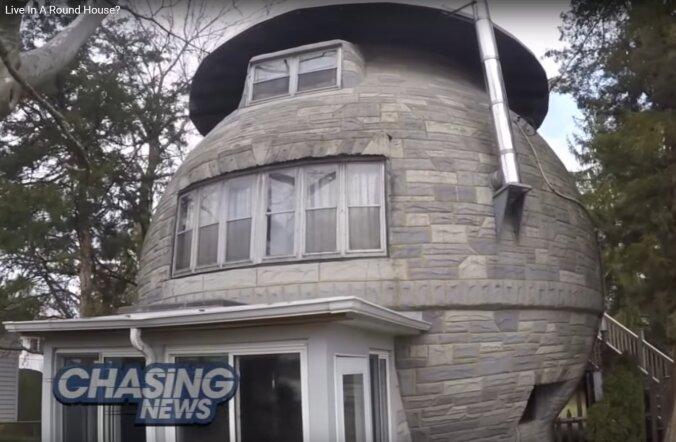 VIDEO: Hirmust tuumasõja ees ehitati ameerika perele ümmargune maja