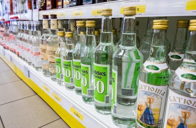 Viina hind Lätis