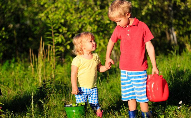 Milline on ühe pere laste jaoks parim vanusevahe?