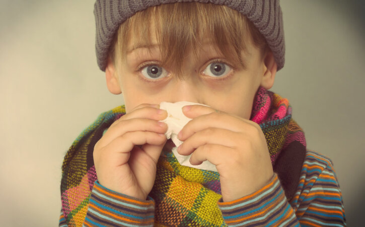 Sinu lapse nohu pole naljaasi — seitse soovitust, mida ette võtta