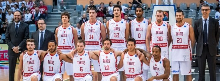 Varese meeskond Final Fouril