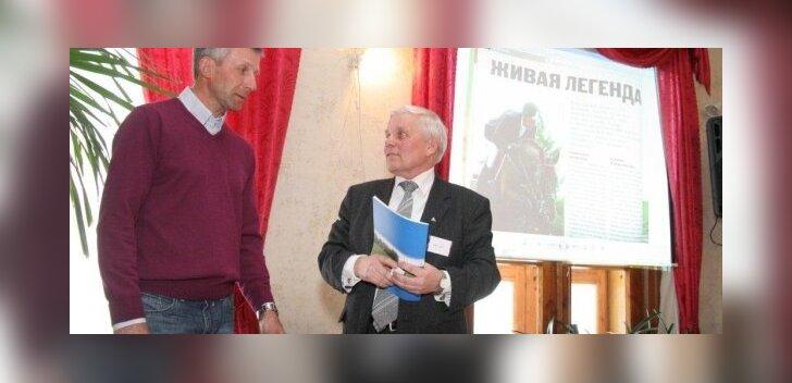 Eesti ratsaspordi legendid Rein Pill ja Raigo Kollom.