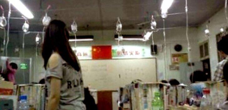 Hiina abiturientidele pumbatakse kibedaimal eksamiperioodil turguteid otse veeni