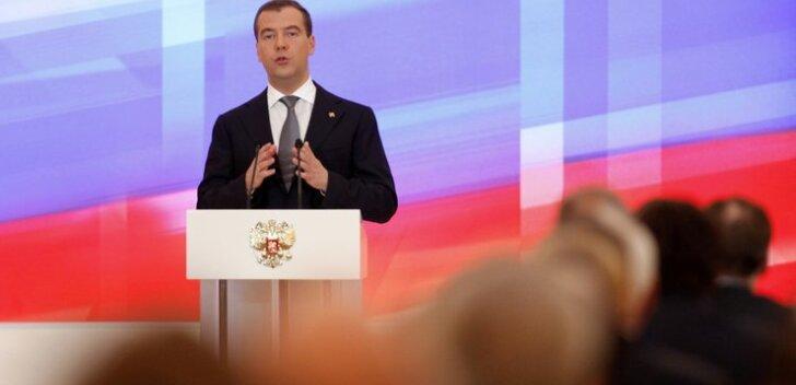 Ansip õnnitles Medvedevit peaministriks määramise puhul