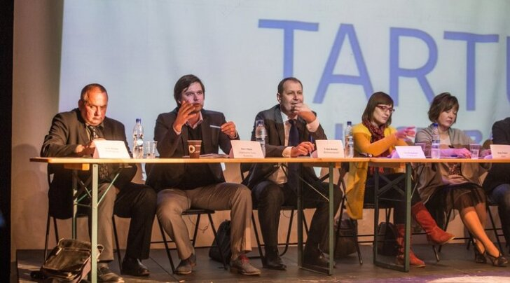 Tartu linnapeakandidaatide debatt