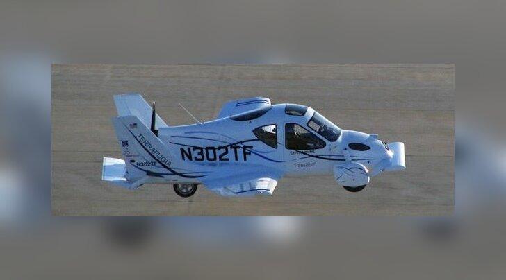 ВИДЕО: Первый летающий автомобиль готов к продажам