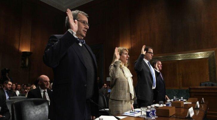 USA senati õiguskomisjonile andis president Ilves ütlusi küberohtude ja valimiste mõjutamise katsete kohta.