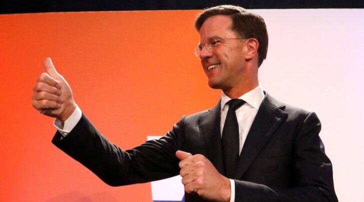 Mark Rutte liberaalide toetusele andis ilmselt lisatõuke enne valimisi Türgiga puhkenud tüli.
