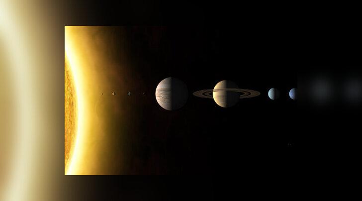 Maa on kolmas planeet päikesest.