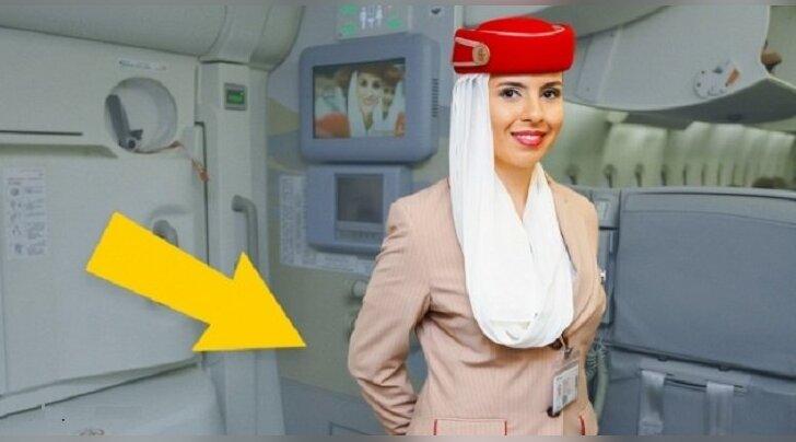 А вы знали? Причина, по которой стюардессы держат руки за спиной, встречая пассажиров