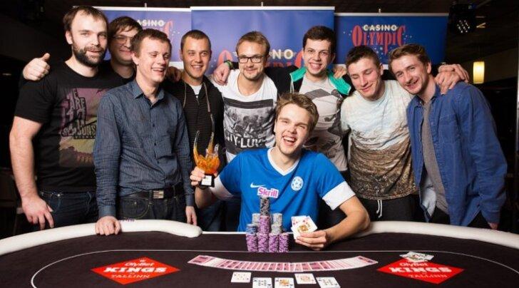 Eestlane teenis Tšehhi pokkeriturniiri võiduga 64 000 eurot