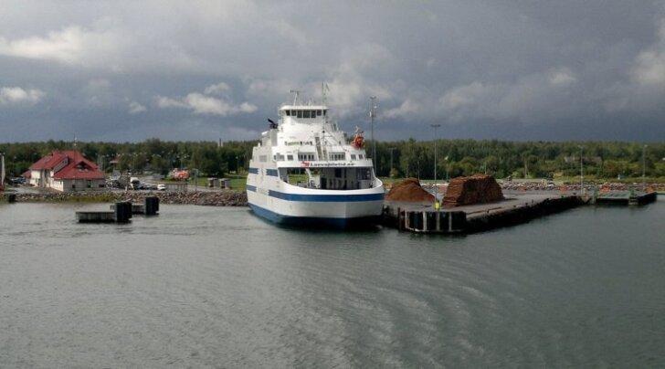 Heltermaa sadam Hiiumaal
