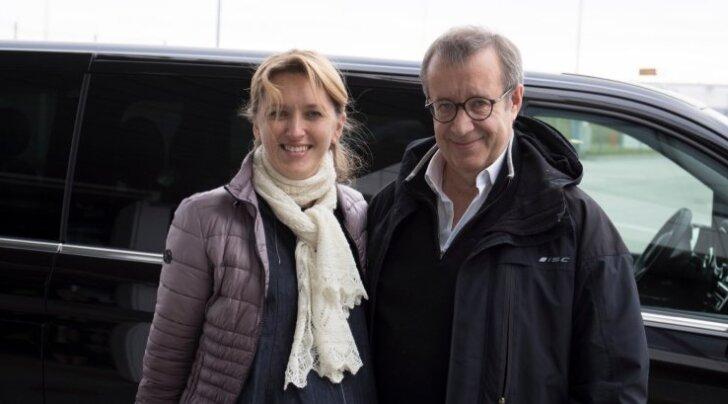 Toomas Hendrik Ilves lahkus Eestist