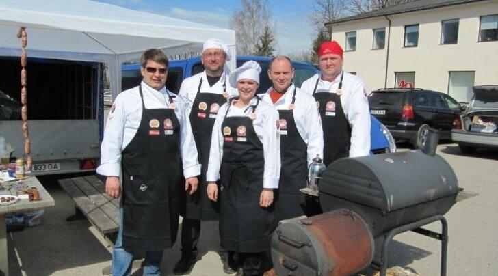 """""""Tapa vorstifestivali"""" meeskond võitis I koha Järvamaa meistrivõistlustel ribivoorus"""