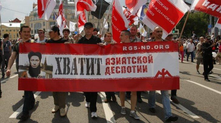 Miljonite marss toimus ka Peterburis