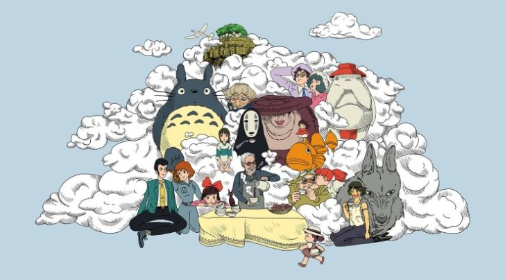 Tallinnas ja Tartus linastuvad legendaarse Jaapani anime-režissööri Hayao Miyazaki filmid