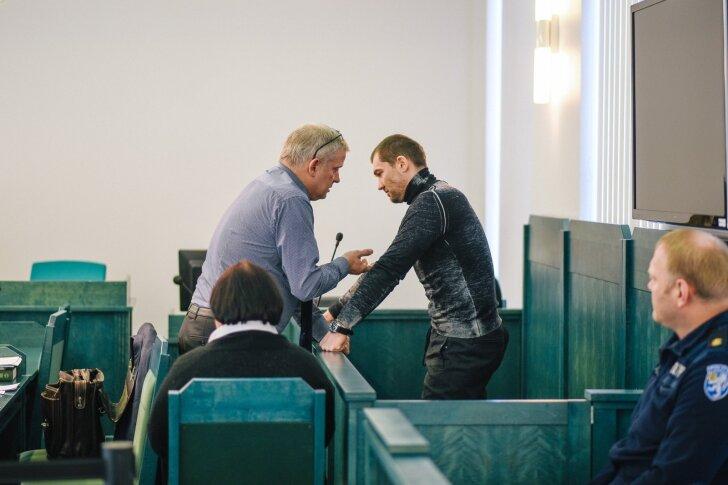 Kaitsja Aadu Luberg ja kohtualune Juri Vorobei