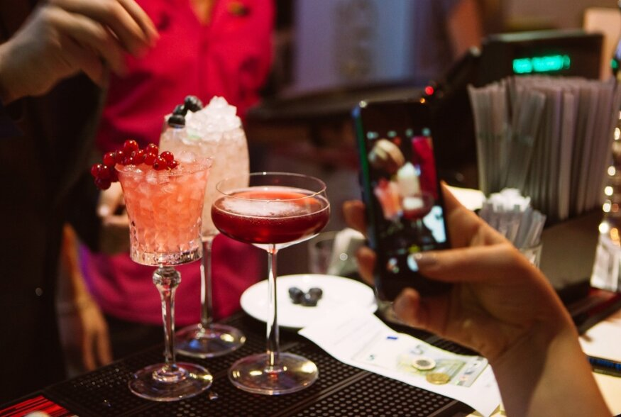 Alkoholivabade kokteilide raamatuesitlus Butterfly Lounge'is