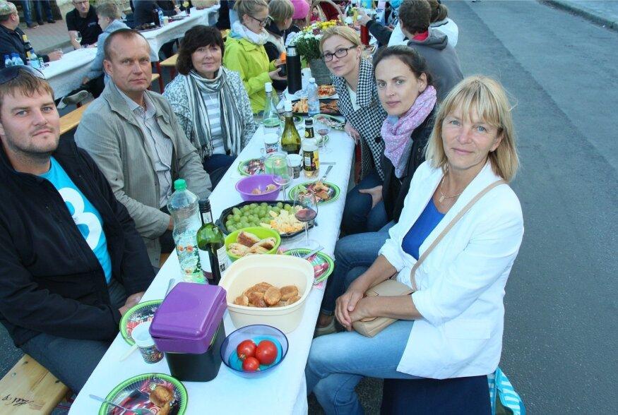 Saaremaa toidufestivali Kuressaare tänavapiknik