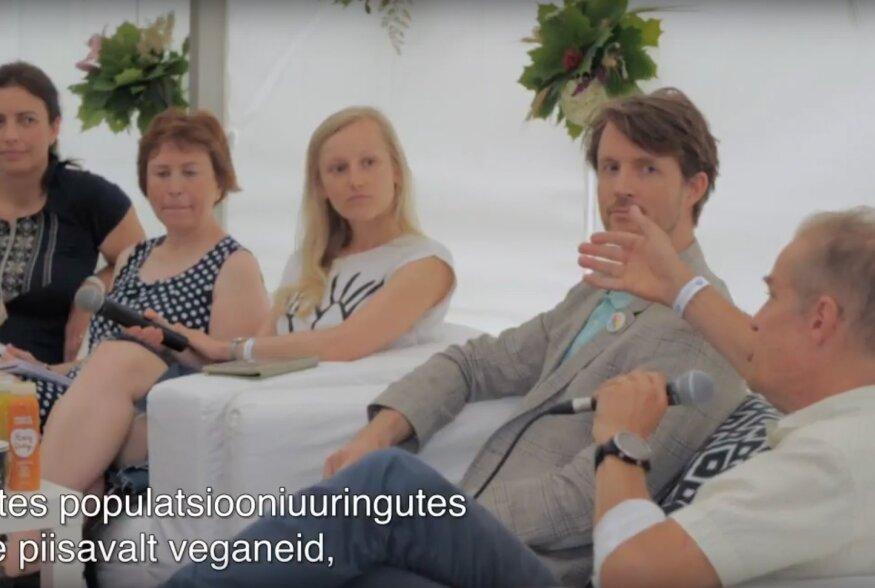 VIDEO | Arutelu Arvamusfestivalilt: veganlus, kas enesepiiratud või tervislik toitumine?
