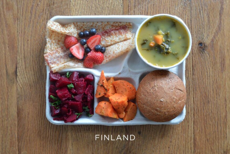 FOTOD | Koolitoit: mida söövad maailma erinevates riikides õpilased lõunaks?