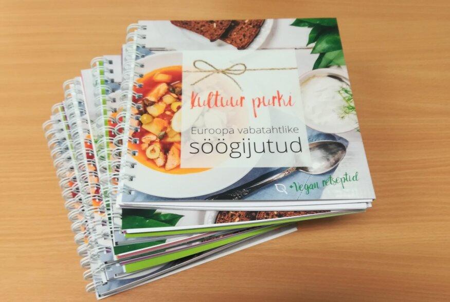 """Uus retseptiraamat """"Kultuur Purki"""" tutvustab Euroopa vabatahtlike köögilugusid"""