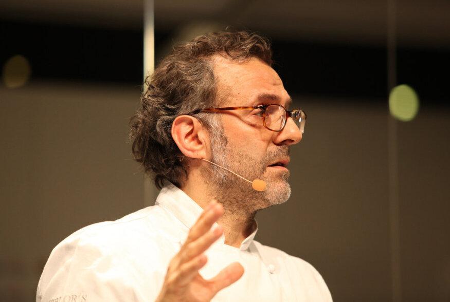 Maailma parim kokk Massimo Botturia sai audoktoriks