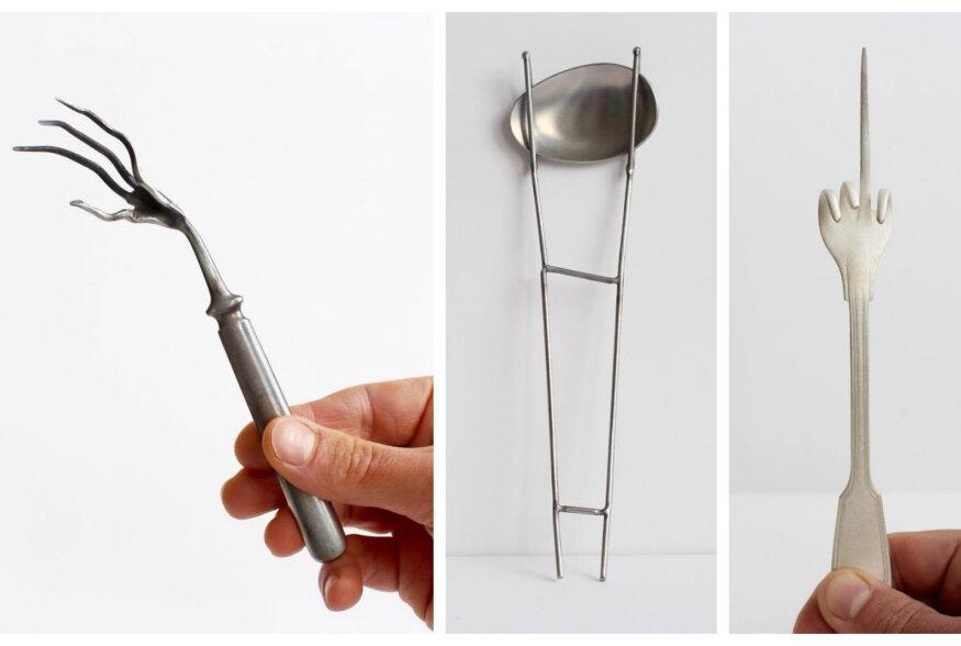 FOTOD: Uued tuuled köögitarvikute maailmas: Kahvlite ja nugade tulevik võib olla väga kummaline