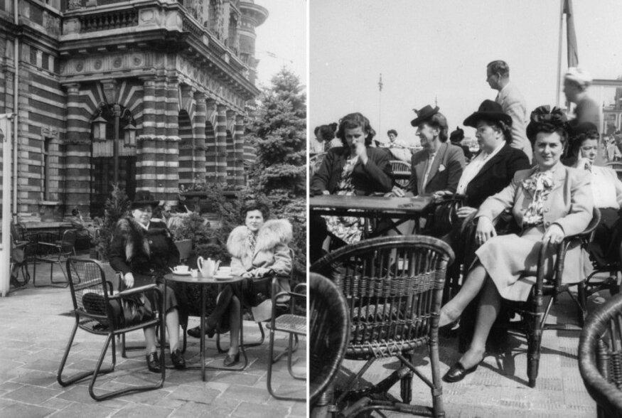 FOTOD | Eesti välikohvikud: läbi sajandi on meile ikka meeldinud õues tiksuda