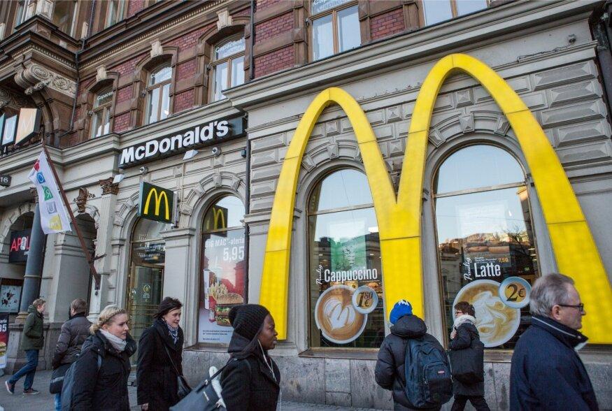 Hiina ja kiirtoit: Big Mac või pelmeenid?