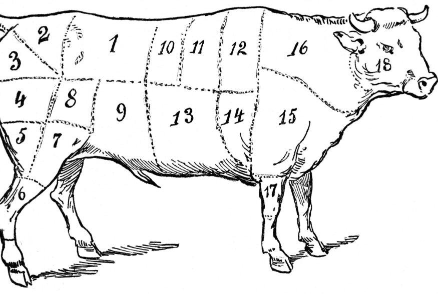 Ninast sabani: Uut tüüpi liha söömine ehk kui palju erinevaid asju saab veisest süüa
