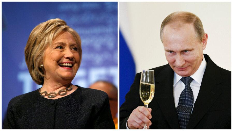 «Россия препятствует честным выборам вСША»— Хиллари Клинтон